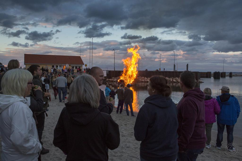 Midsommerfest på Rørvig havn