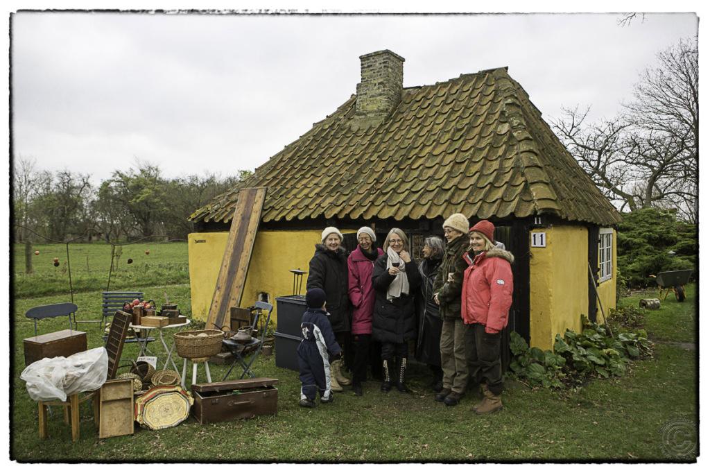 Nakke gamle smedje i Galbuen i Nakke i Odsherred, Foto; John Olsen/photodan.dk